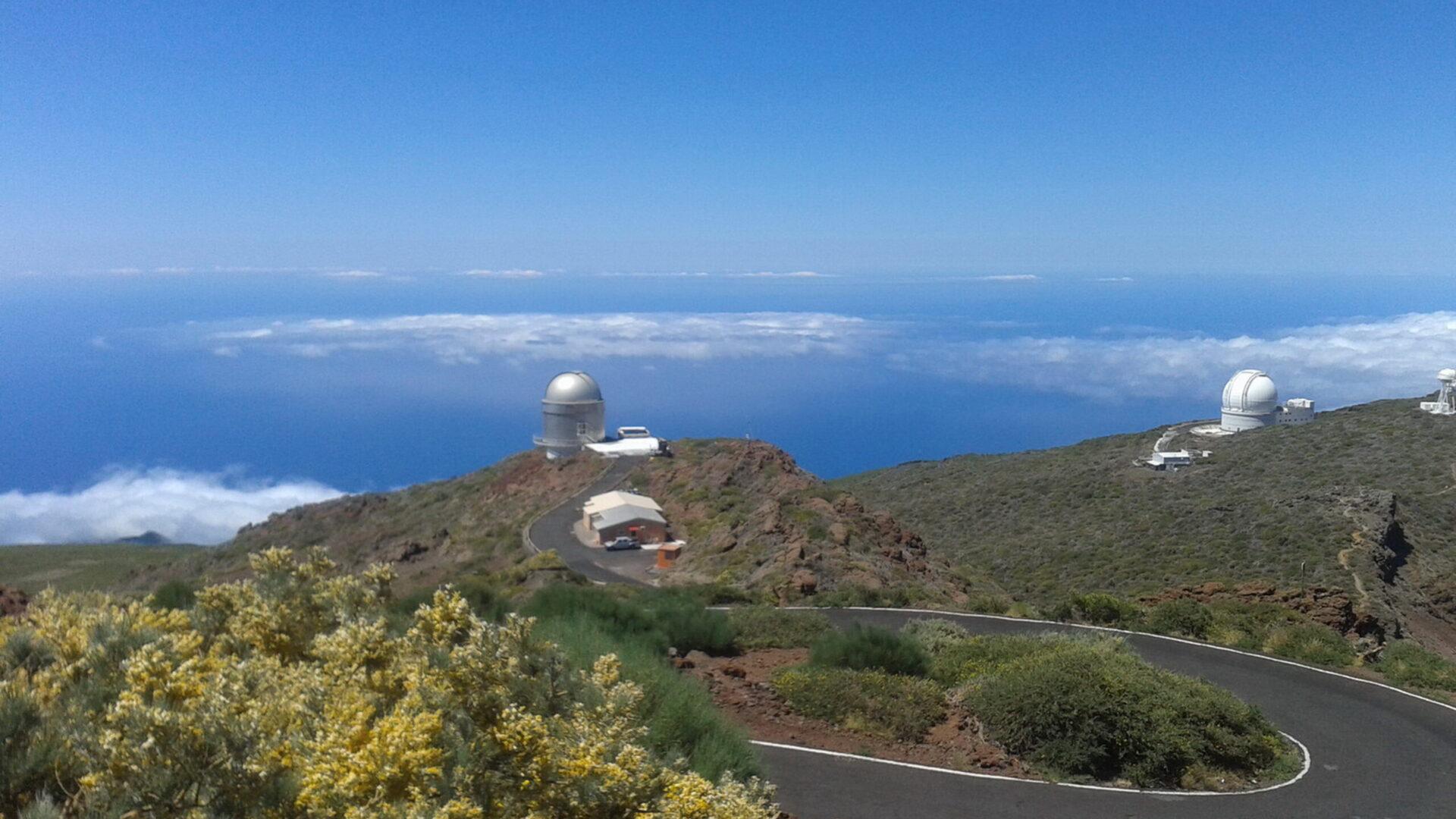 Exc. La Palma Spezial Viajes Pamir (3) Inselgipfel Observatorien