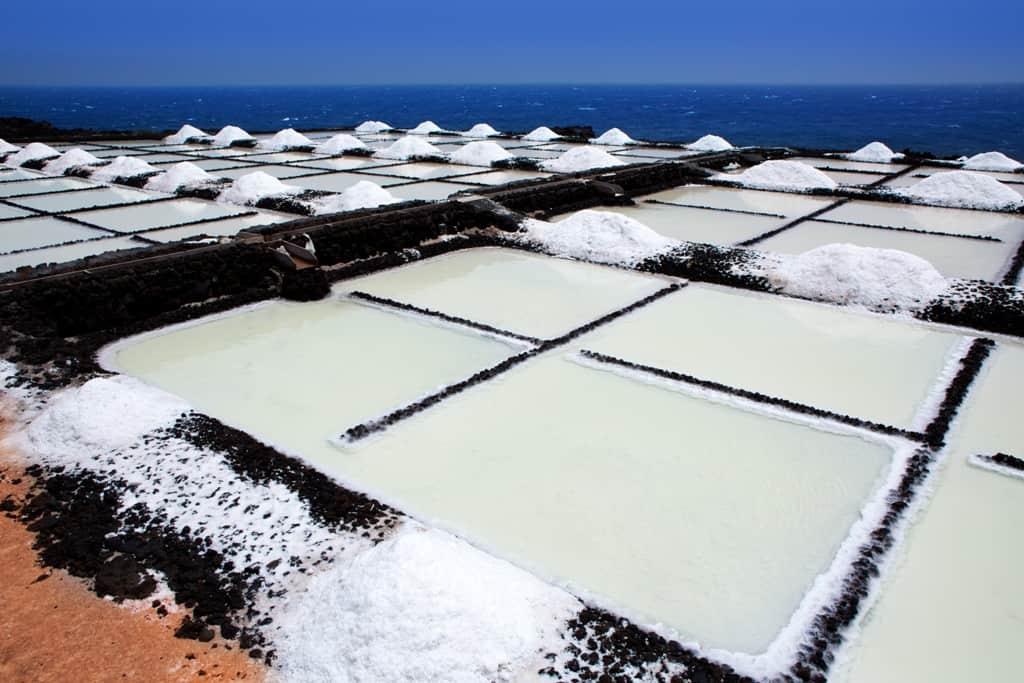 La Palma Salinas de fuencaliente saltworks